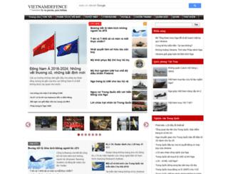 vietnamdefence.com screenshot