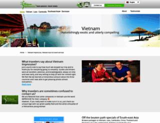 vietnamimpressive.com screenshot
