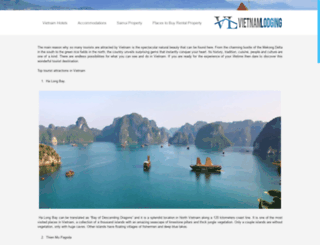 vietnamlodging.net screenshot