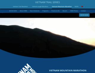 vietnammountainmarathon.com screenshot