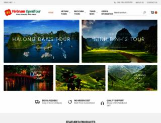 vietnamopentour.com.vn screenshot
