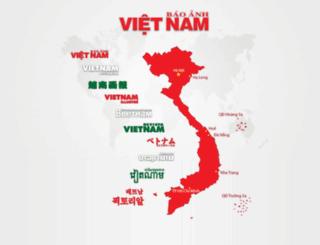 vietnampictorial.vnanet.vn screenshot