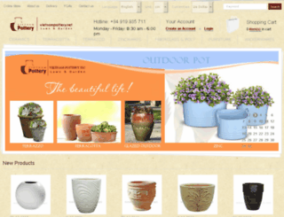 vietnampottery.net screenshot
