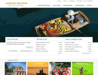 vietnamtour.co.uk screenshot