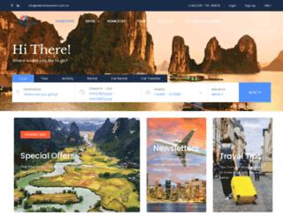 vietnamtourism.com.vn screenshot