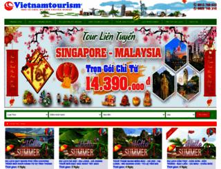 vietnamtourism.net.vn screenshot