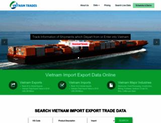 vietnamtrades.com screenshot