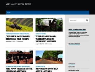 vietnamtraveltimes.com screenshot