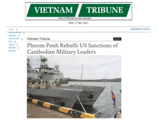 vietnamtribune.com screenshot