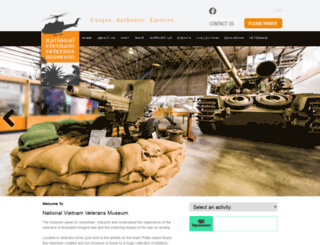 vietnamvetsmuseum.org screenshot