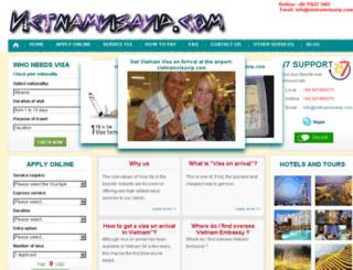 vietnamvisavip.com screenshot