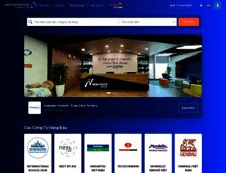 vietnamworks.com screenshot