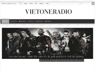 vietoneradio.com screenshot