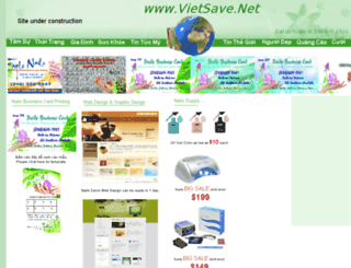 vietsave.homestead.com screenshot