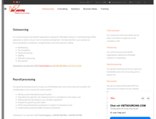 vietsourcing.org screenshot