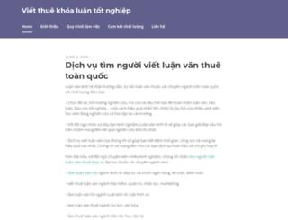 vietthuekhoaluan.wordpress.com screenshot