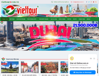 viettour.com.vn screenshot