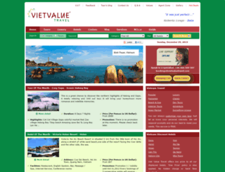 vietvaluetravel.com screenshot
