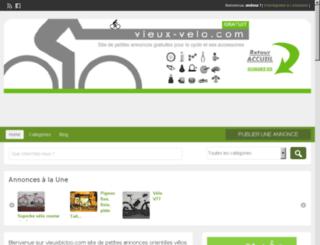 vieux-velo.com screenshot