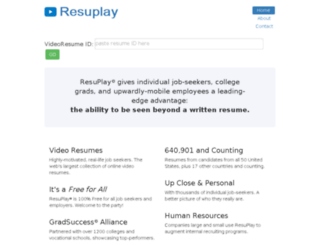view.resuplay.net screenshot