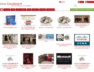 viewclassifieds.net screenshot
