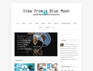 viewfromabluemoon.com screenshot