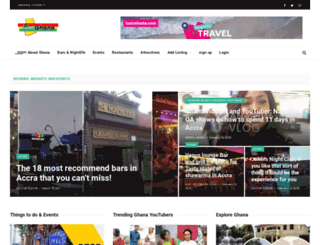 viewghana.com screenshot