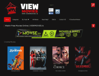 viewmovies.is screenshot