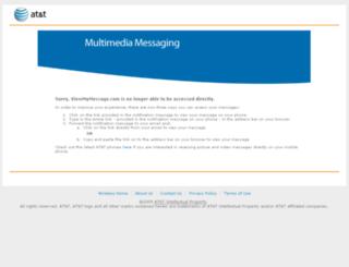 viewmymessage.com screenshot