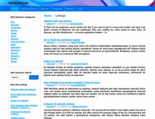 viewsdirectory.com screenshot