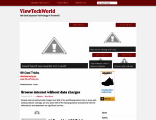 viewtechworld.blogspot.in screenshot