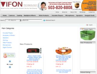 vifontech.com screenshot