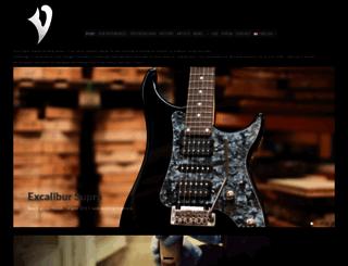 vigierguitars.com screenshot