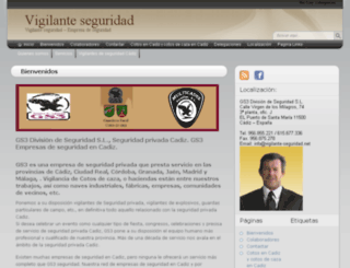 vigilante-seguridad.net screenshot