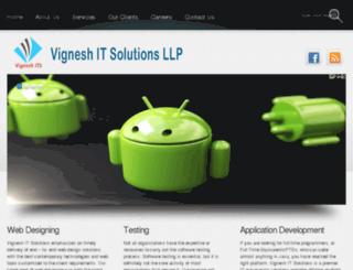 vigneshitsolutions.com screenshot