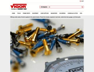 vigoroptical.com screenshot