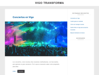 vigotransforma.com screenshot