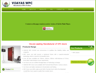 vijayaswpc.com screenshot
