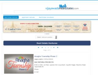 vijayawadarealestates.com screenshot