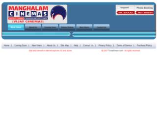 vijaycinemas.com screenshot