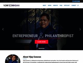 vijayeswaran.com screenshot