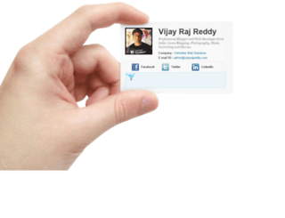 vijayrajreddy.com screenshot