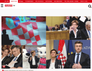 vijesti.hr screenshot