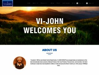 vijohngroup.com screenshot