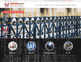 vikasindustries.co screenshot