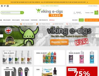 vikingecigs-wholesale.co.uk screenshot