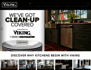vikingrange.com screenshot