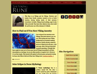 vikingrune.com screenshot