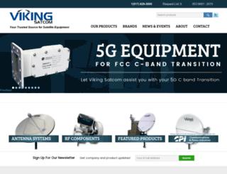 vikingsatcom.com screenshot