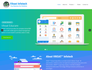 viksatinfotech.com screenshot
